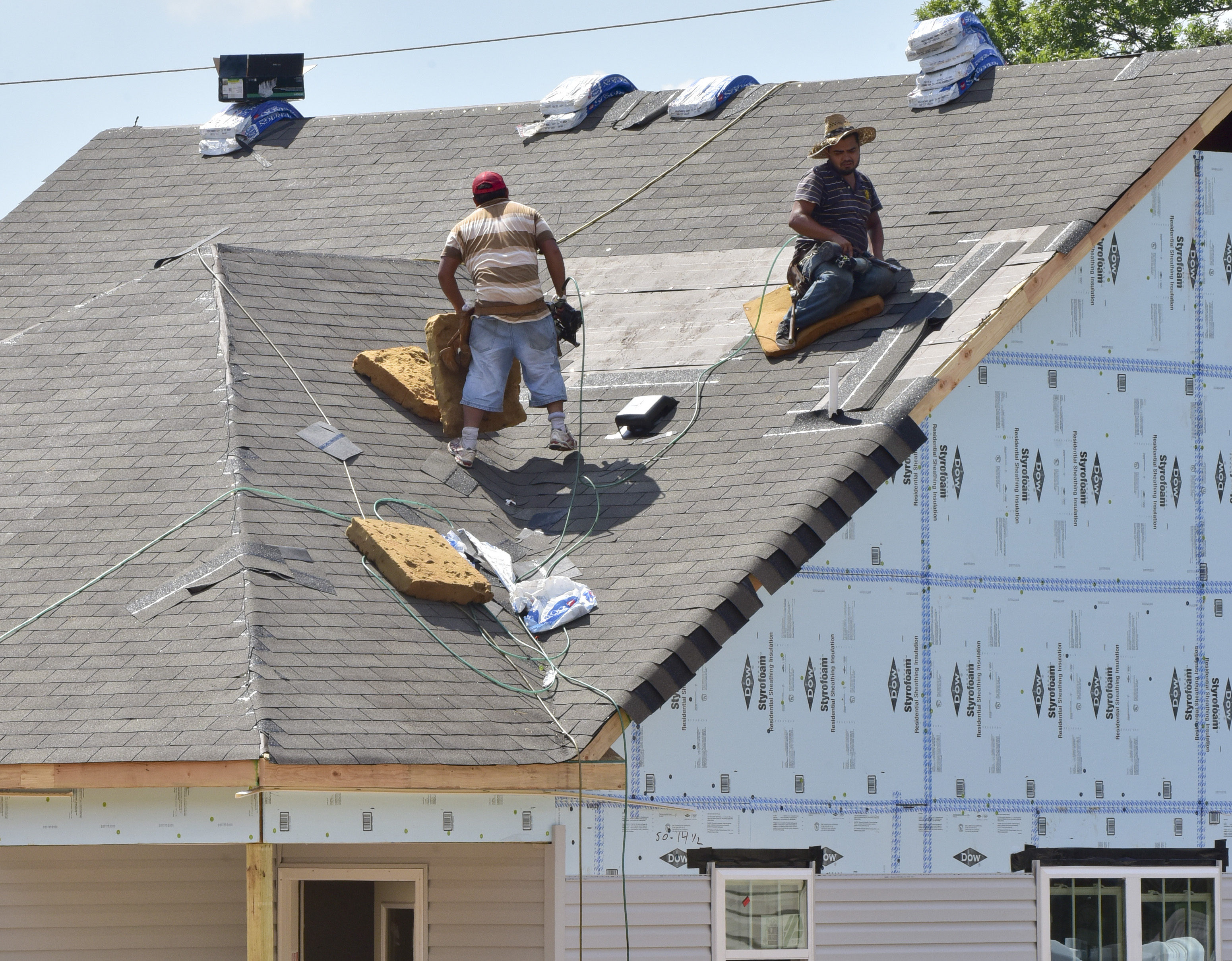 Habitat for Humanity provides financial planning and budgeting services for home recipients. The houses are financed through Habitat and have zero percent interest. (Frank Couch, special to The Birmingham Times)