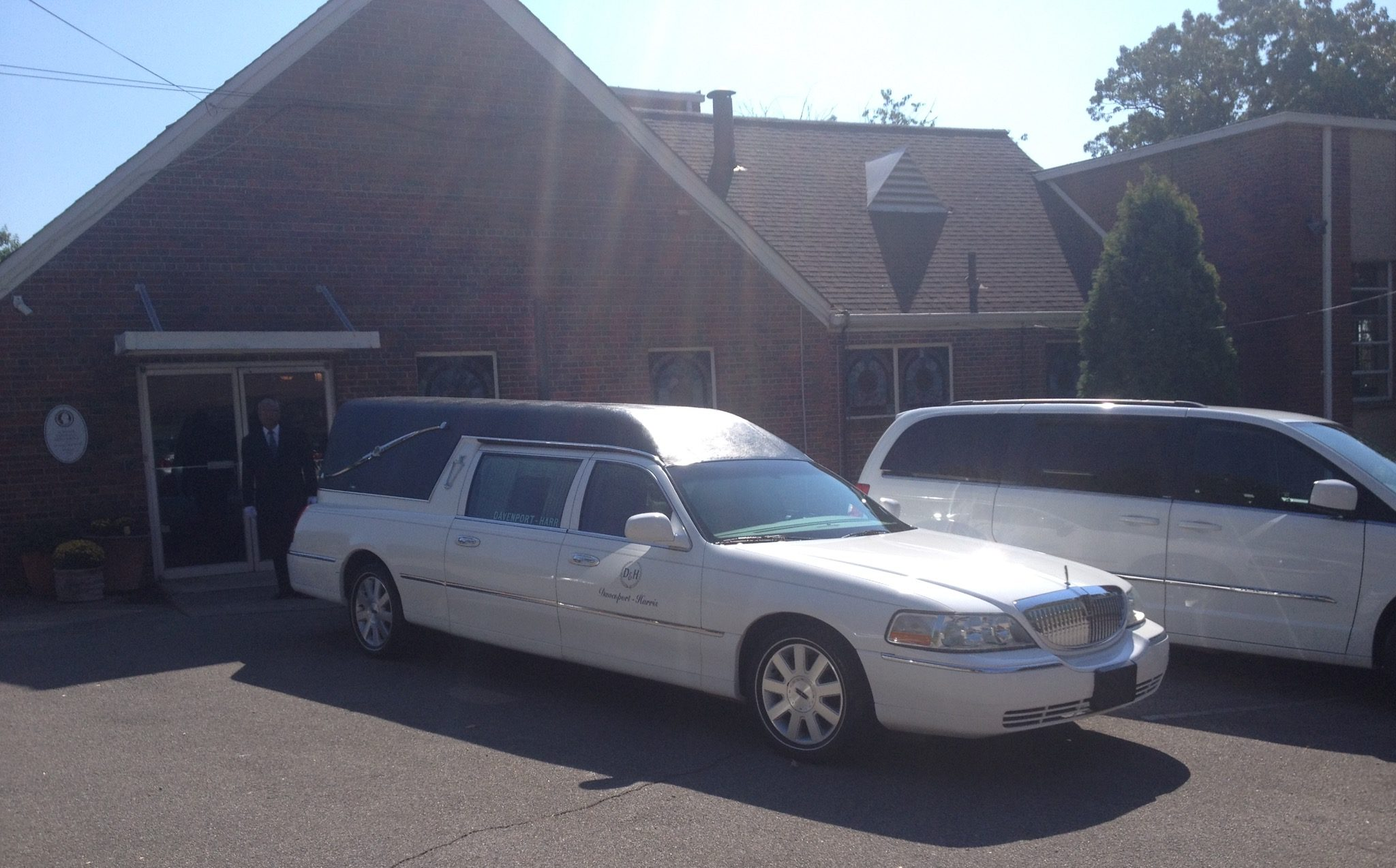 The funeral for Helen M. Lewis, held at First Congregational Christian Church. (Monique Jones, The Birmingham Times)