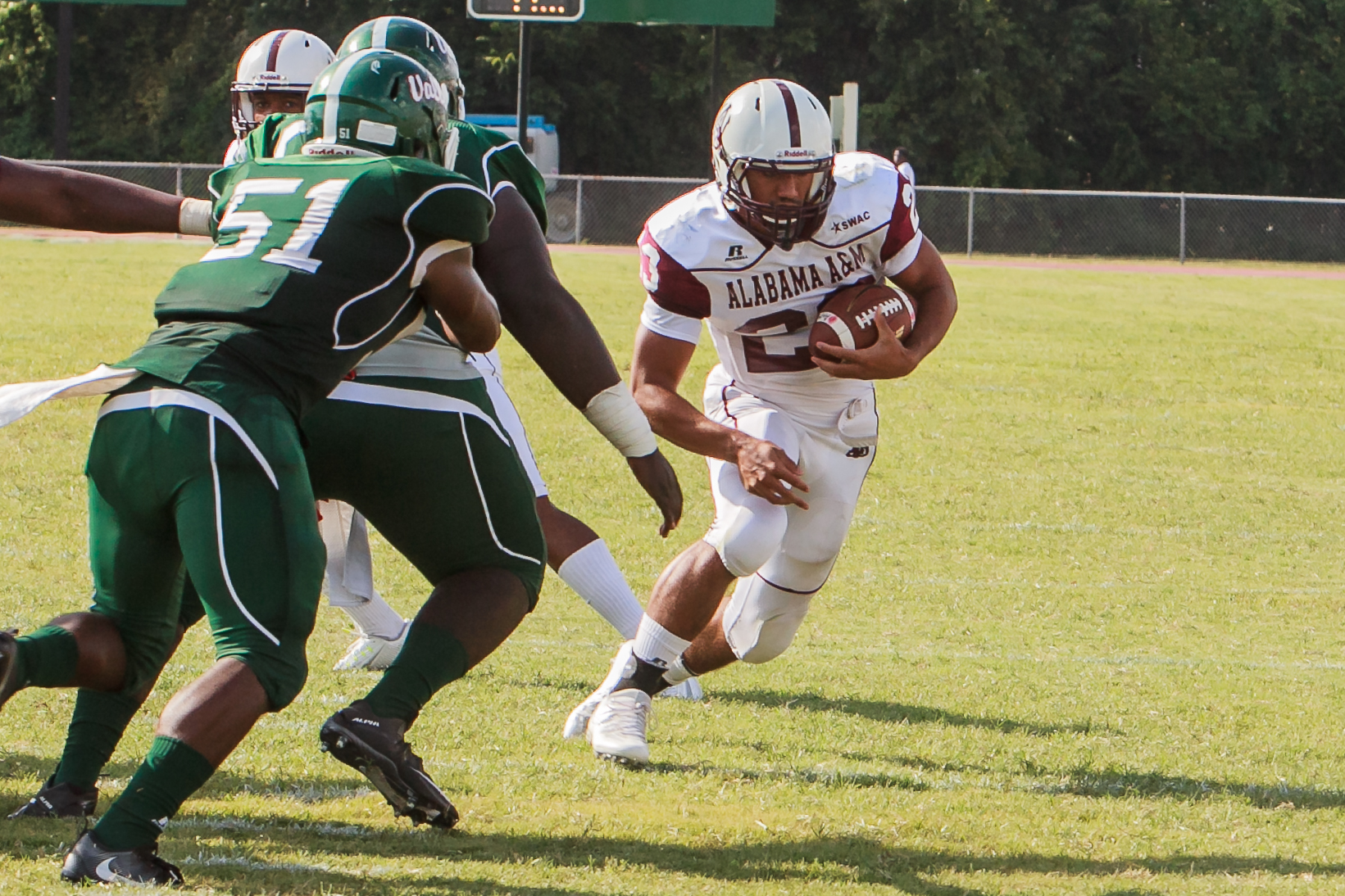 Jordan Bentley, Alabama A&M running back. (Special to The Times)