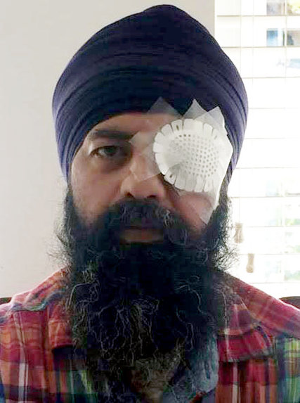 Maan S. Khalsa, who was attacked in what prosecutors said was a hate crime on Sept. 25 in Richmond, Calif. (Provided photo)
