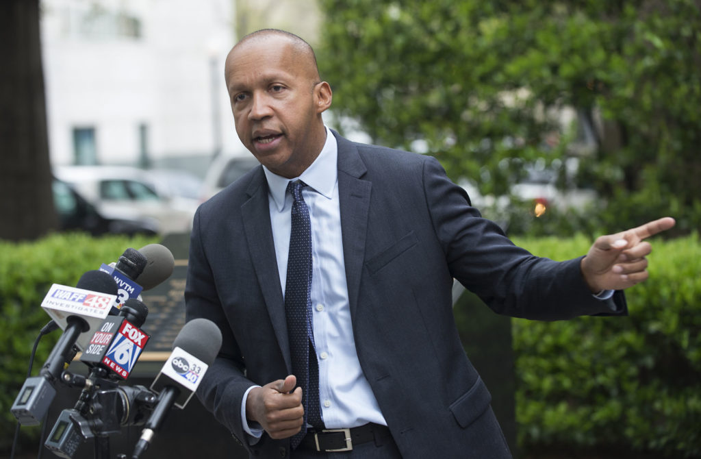 Bryan Stevenson has received prestigious awards including the MacArthur Foundation Fellowship Award Prize, the American Civil Liberties Union (ACLU) National Medal of Liberty, and the Birmingham Civil Rights Institute's annual Fred L. Shuttlesworth Human Rights Award. (Bernard Troncale, special to The Times)