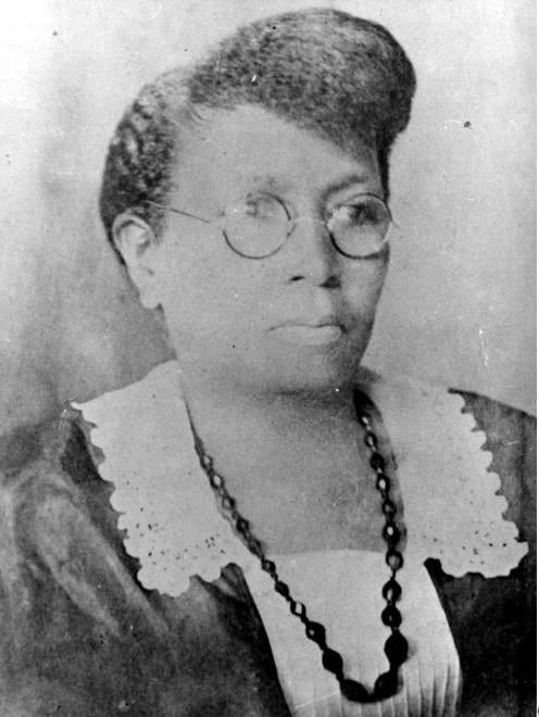 """Carrie Tuggle founded Tuggle Institute, a school and home for poor African-American children, in 1903. She became a local civic leader who was lauded as """"the female Booker T. Washington"""" by the Birmingham News when she died in 1924. (Courtesy of the Birmingham, Ala., Public Library Archives)"""