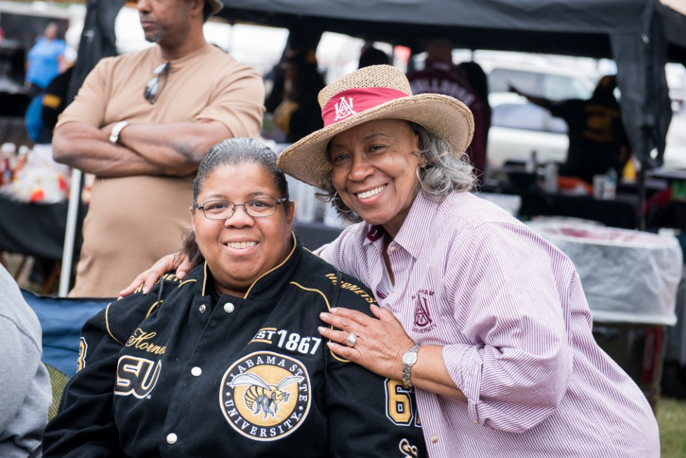 The Magic City Classic brings fans of Alabama State and Alabama A&M together in Birmingham for one of the year's major community events. (Nik Layman, Alabama NewsCenter)