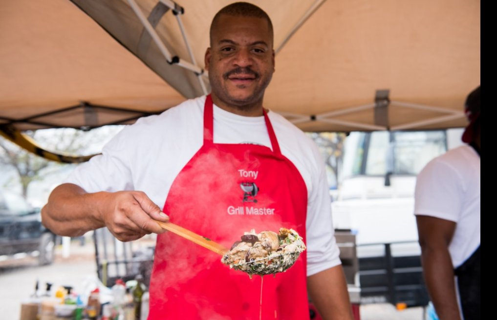 Food, friends, fun and funk are all part of the camaraderie and tailgating experience at the Magic City Classic. (Nik Layman, Alabama NewsCenter)