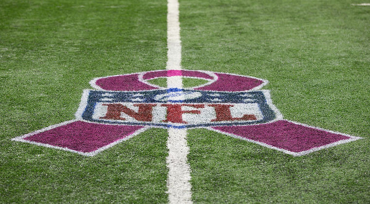 The NFL have embraced the fight against breast cancer. (Provided photo)