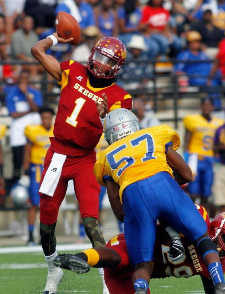 Tuskegee's Kevin Lacey was chosen as the Southern Intercollegiate Athletic Conference Offensive Player of the Year. (Provided photo)