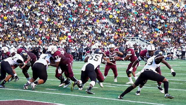 Alabama A&M defeated Alabama State in front of a record crowd for the 75th playing of the Magic City Classic at Legion Field. (Mykeon Smith, Alabama NewsCenter)