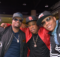 Musical group Bell Biv DeVoe: Ricky Bell, Michael Bivins and Ronnie DeVoe.