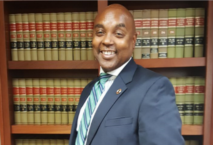 Theo Lawson becomes first African American to lead the county's in-house law department. (Jinnifer Parnell, for The Birmingham Times)