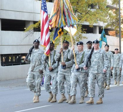 For nearly 70 years, Birmingham has honored veterans with its National Veterans Day Parade, the nation's first and longest-running Veterans Day parade. Scenes from last year highlight the pride the Magic City has for its veterans. (Provided photos)