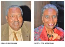 Autherine Lucy Foster, Charles Eric Lincoln, Vanzetta Penn McPherson and Frederick Reese are among those honored in the 2017 Alabama African-American History Calendar. (Stephonia Taylor Mclinn, special to The Times)