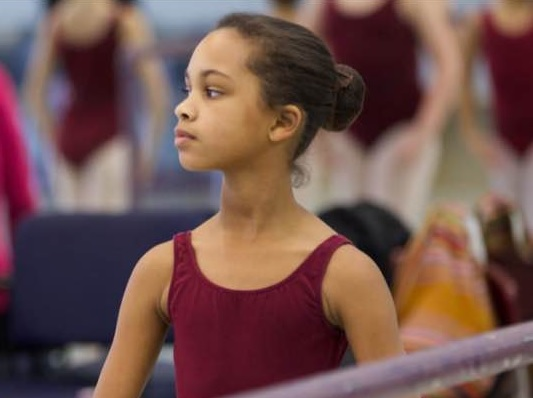 """Hannah French, 10, has become the first African American to play the lead role of Marie in the Alabama Ballet's production of George Balanchine's """"The Nutcracker."""" The production will debut in Birmingham Friday at Samford University's Wright Center. (Provided photo)"""