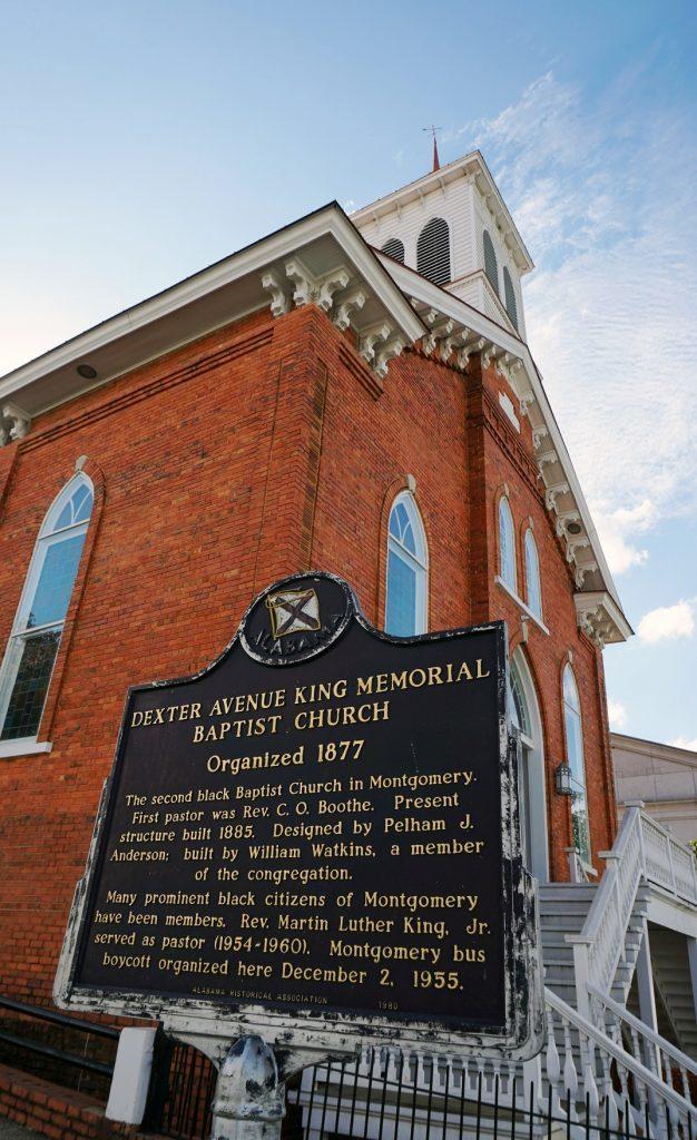 Dexter Avenue King Memorial Baptist Church, Montgomery. (Erin Harney, Alabama NewsCenter)