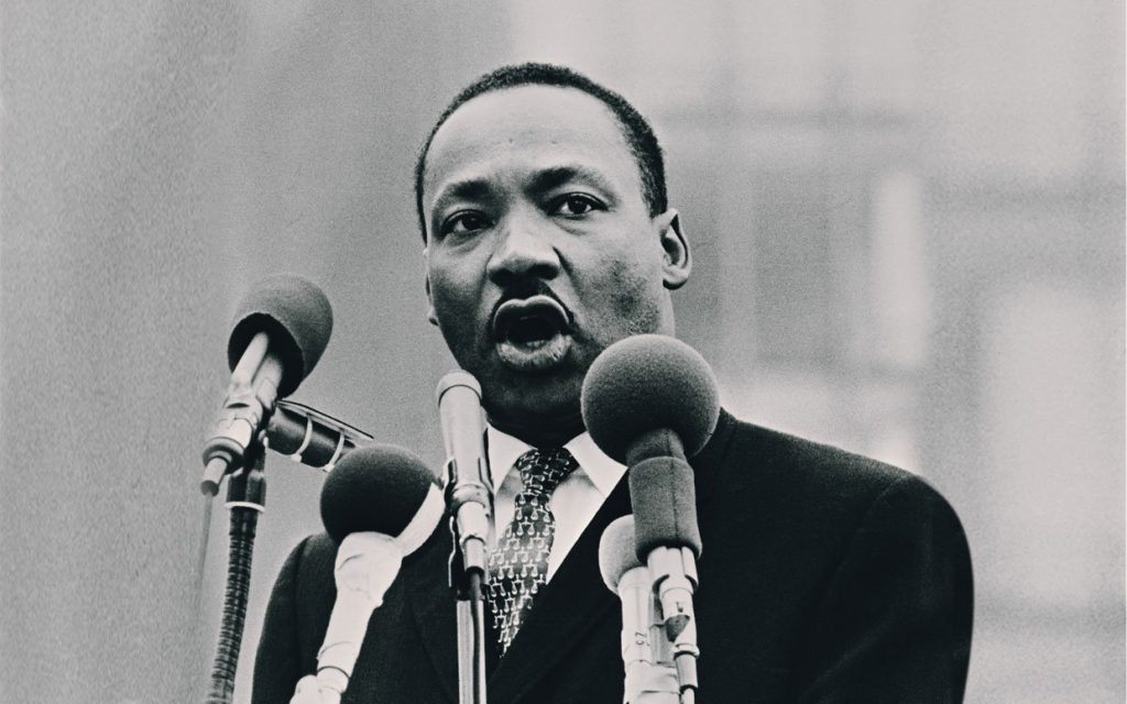 The Rev. Martin Luther King Jr. (Wikimedia Commons)