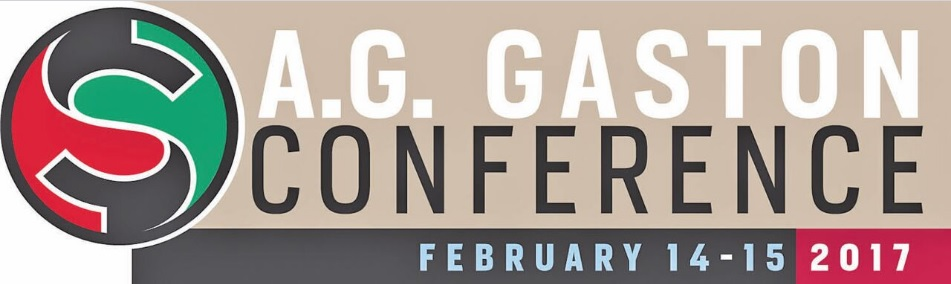 The thirteenth annual A. G. Gaston Conference will be held at the BJCC February 14-15.