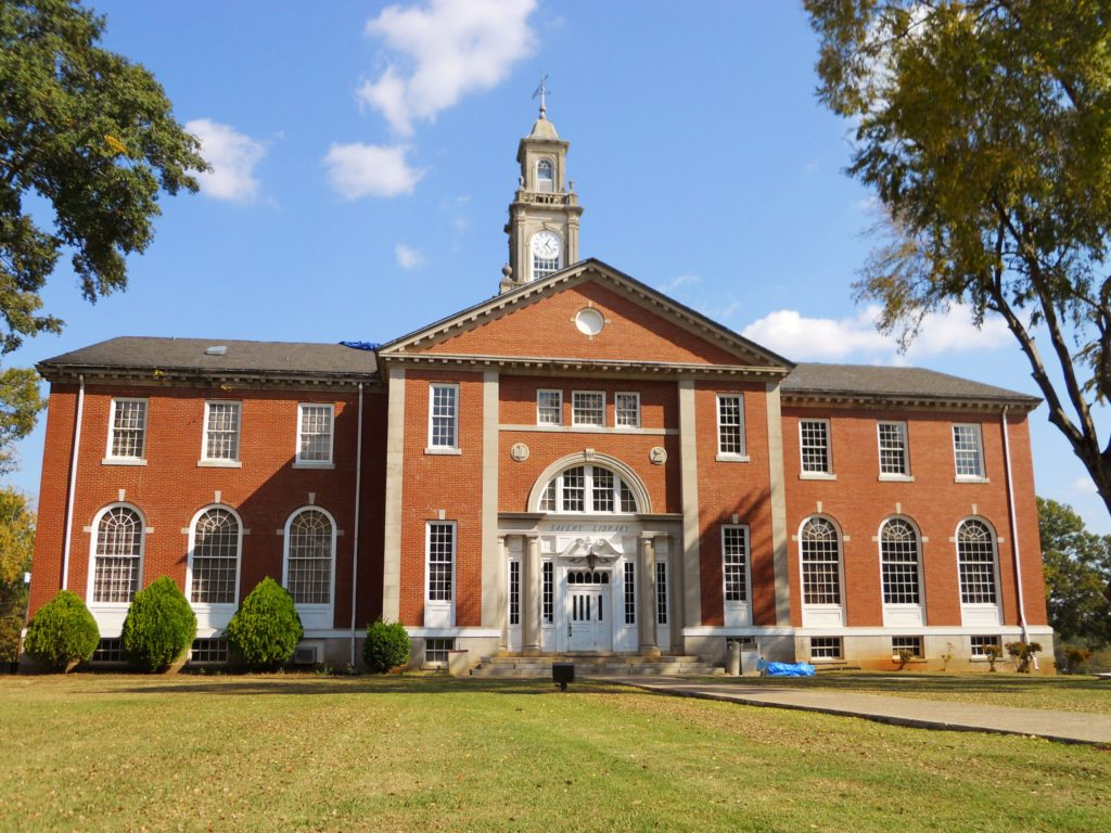 Talladega College's Savery Library (Wikimedia Commons)