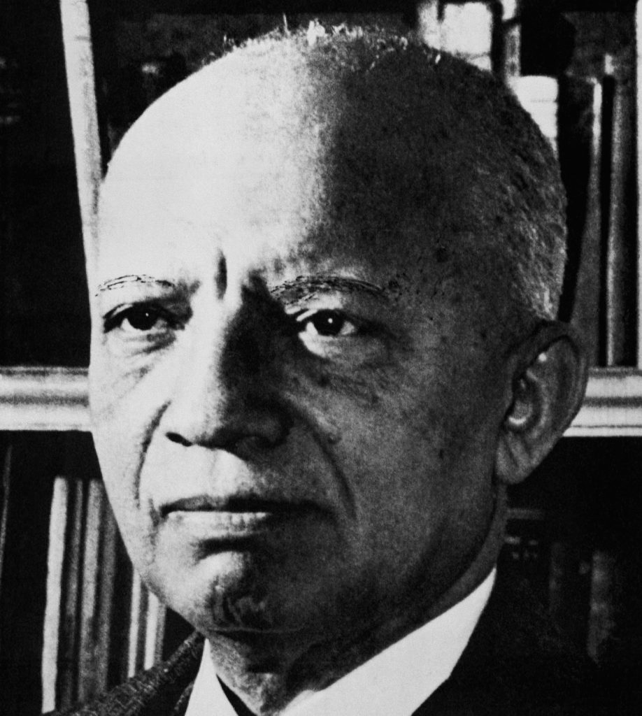 African American historian and author Carter G. Woodson in an undated photograph. Woodson struggled to record the story of black achievements at a time when most African Americans weren't even allowed to vote. In 1926, he originated the celebration of Black History Week and is the author of 16 books about African Americans. Location is unknown. (AP Photo)