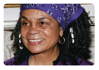 Poet Sonia Sanchez has lectured at more than 500 universities and colleges in the United States and has been featured in readings around the world