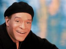 "Al Jarreau died days after announcing his retirement from exhaustion. Pictured: Al Jarreau on the cover of his 2008 compilation album, ""Love Songs."""