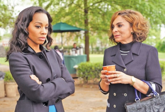 """Anika Noni Rose and Jasmine Guy star in BET's """"The Quad."""" (BET photo)"""