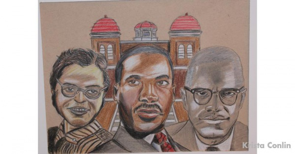 One of the art pieces from the BCRI Annual Black History Month Art Contest.