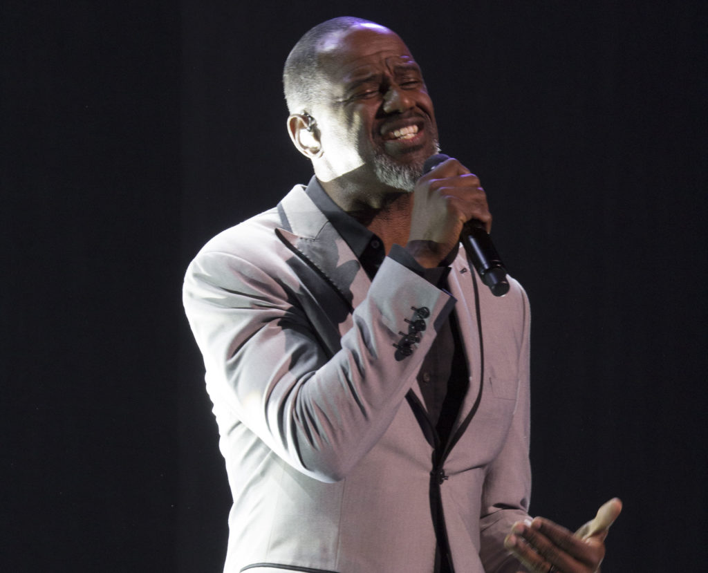 Grammy-nominated Brian McKnight was the headliner at the Birmingham-Jefferson Convention Center Concert Hall on Feb. 10 for 'An Evening of Love' with powerhouse R&B singers Kelly Price and Chanté Moore. (Reginald Allen, special to The Times)