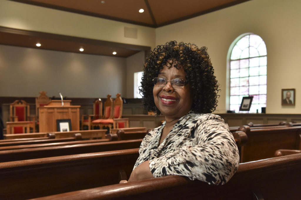Dr. Martha Bouyer, Executive Director of the Historic Bethel Baptist Church Association. (Frank Couch, The Birmingham Times)