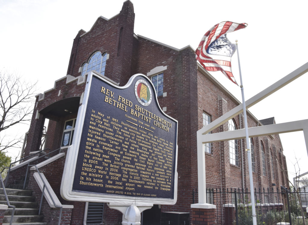 The Historic Bethel Baptist Church Foundation hosts several events and groups in Birmingham's Collegeville neighborhood to help educate and inspire those learning about the Civil Rights struggle. (Frank Couch, The Birmingham Times)