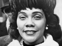 Coretta Scott King, wife of Dr. Martin Luther King Jr., was an activist in her own right.