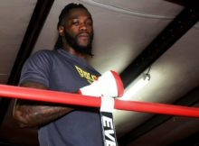 Deontay Wilder, shown at Skyy Gym in Northport, does not expect to be knocked out in his upcoming bout with Gerald Washington. (Solomon Crenshaw Jr., Alabama NewsCenter)