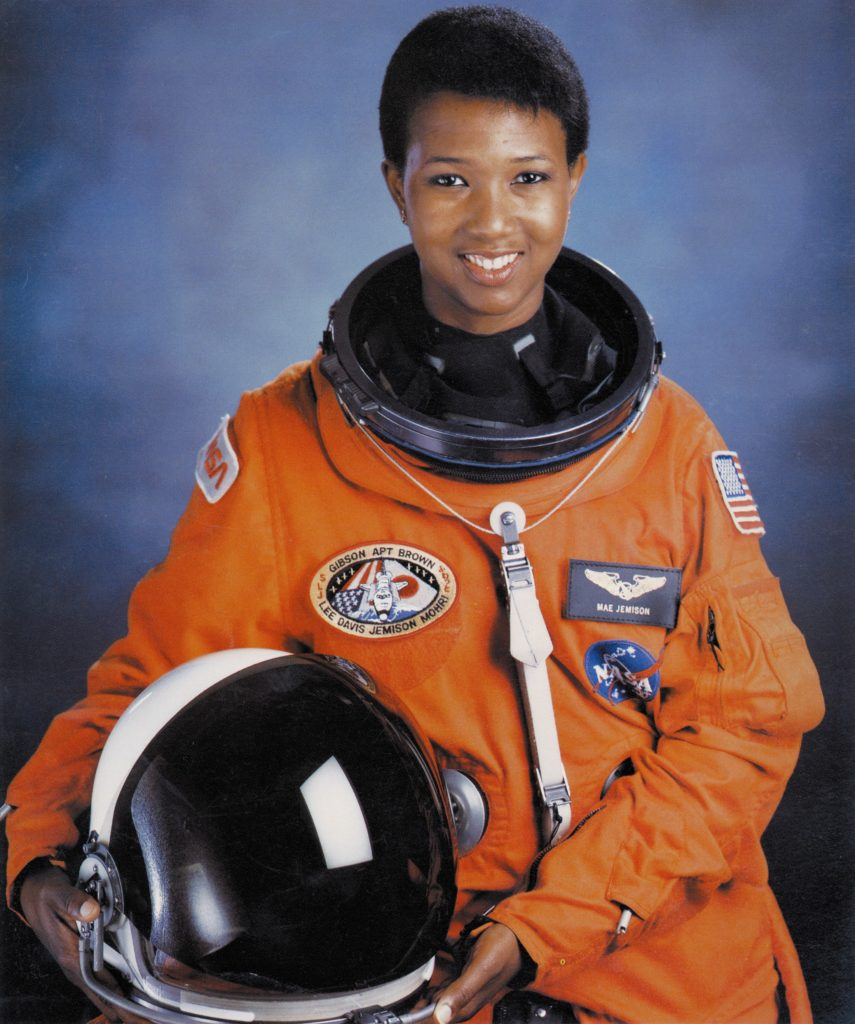 Dr. Mae Jemison became the first woman of color to travel in outer space. (NASA/Public domain)