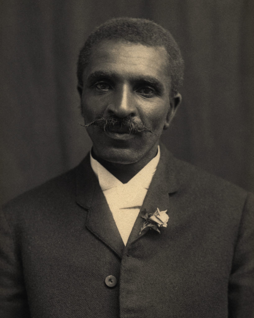 George Washington Carver developed numerous products from the peanut. (Tuskegee University Archives/Museum, Public domain)