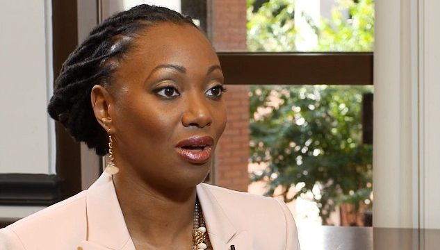Dr. Hadiyah Green pioneered an innovation in cancer treatment using nanoparticles and lasers. (Mark Jerald, Alabama NewsCenter)
