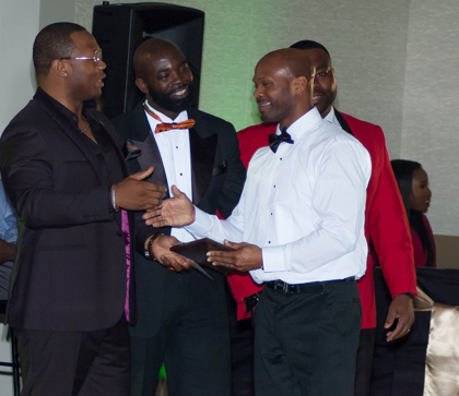 Cultivate 4 Mentoring marked its one-year anniversary with its inaugural Heritage Ball. Awards were presented to area mentors. (Montavious Bonner, special to The Times)