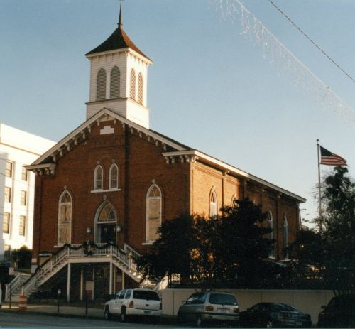 Dexter Avenue King Memorial Baptist Church in Montgomery, Alabama (Quintard Taylor, courtesy photo)