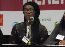 Maacah Davis, Founding Publisher, Creative Director and Editor-in-Chief of belladonna magazine. (Monique Jones, The Birmingham Times)