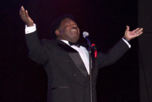 "Percy Sledge became a music legend with his hit ""When a Man Loves a Woman."""