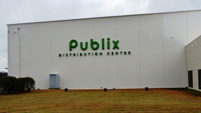 Publix Super Markets is now operating its 638,000-square-foot distribution center in McCalla. (Michael Tomberlin, Alabama NewsCenter)