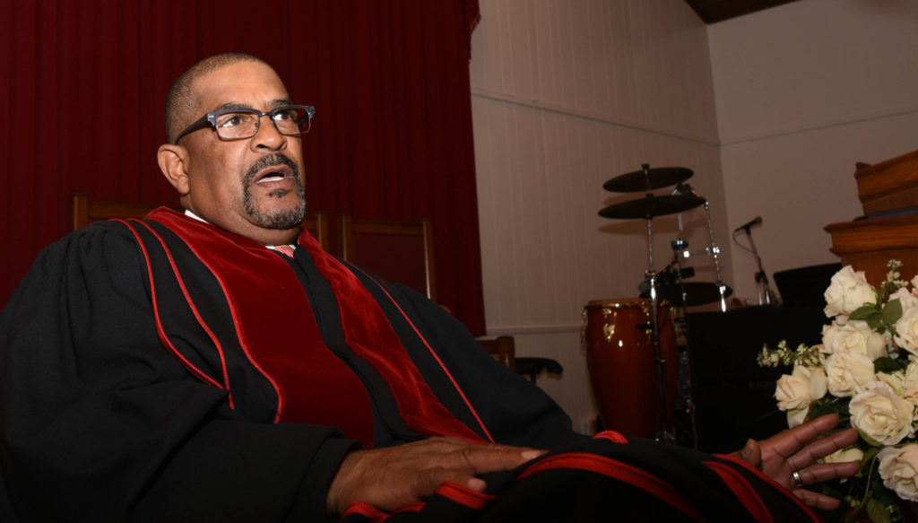 The Rev. Robert Bearden, is the son of Louise Bearden, who helped prepare meals for civil rights leaders when they came to town. (Solomon Crenshaw Jr., special to The Times)