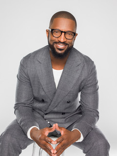 Rickey Smiley is a comedian, radio host, and TV personality.