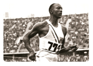 Jesse Owens made Olympic history in the 1936 Berlin Olympics Games.