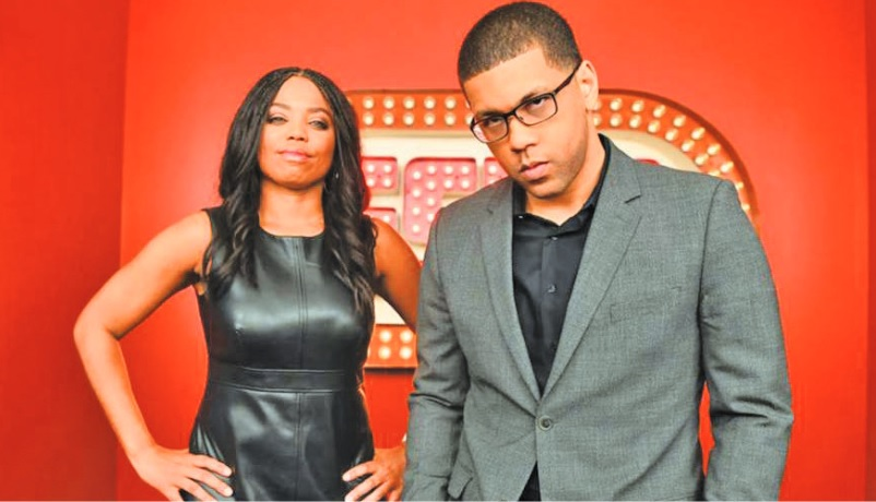 "ESPN's flagship ""SportsCenter"" franchise will take on a younger, hipper face as Michael Smith and Jemele Hill of ""His & Hers"" take over the early edition. (ESPN photo)"