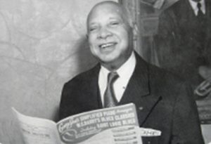 "Composer W.C. Handy's most popular piece is ""St. Louis Blues,"" the most recorded composition in history."