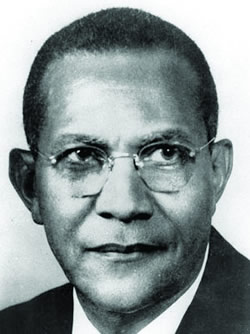 Dr. Charles Gomillion was the lead plaintiff in Gomillion v. Lightfoot, the landmark case that outlawed racial gerrymandering.