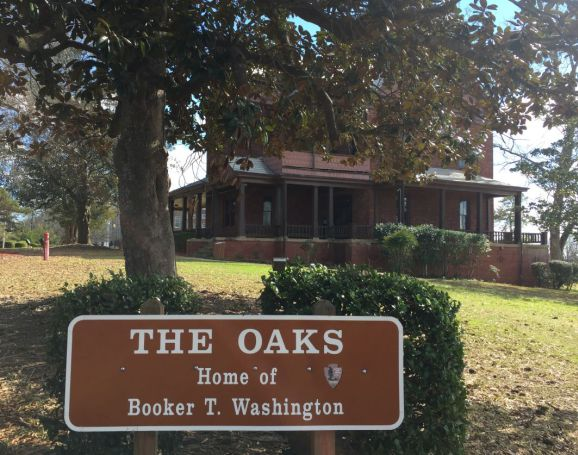 The Oaks is surrounded by trees. (Donna Cope, Alabama NewsCenter)