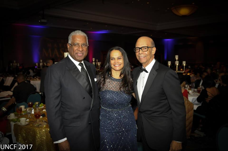 Birmingham Mayor William Bell, Cheri Wilson, Birmingham Area UNCF, and Dr. Micheal Lomax, president and chief executive officer of the United Negro College Fund of the United States. (Provided photo)