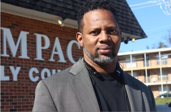 Gerrel Jones is support and outreach coordinator with SAFE Birmingham, part of the Birmingham Violence Reduction Initiative (BVRI). (Ariel Worthy, The Birmingham Times).