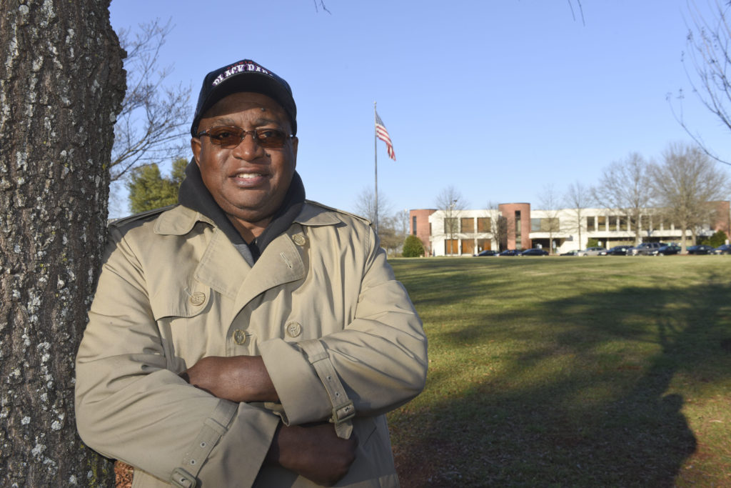 John Wilson, Jr., president, Grasselli Heights Neighborhood Association (Frank Couch, The Birmingham Times)