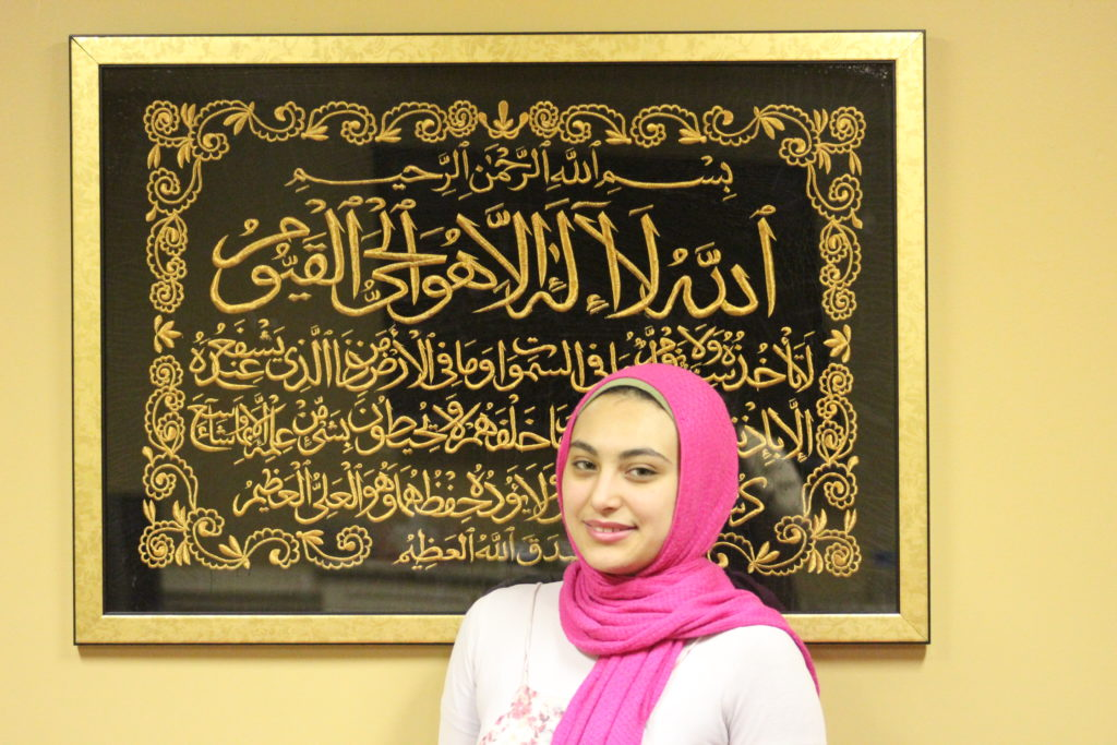 Rowan El-Qishawi, 18, has already been acknowledged nationally for her scientific work. She wants to help dispel several misconceptions about Islam. (Ariel Worthy, The Birmingham Times)
