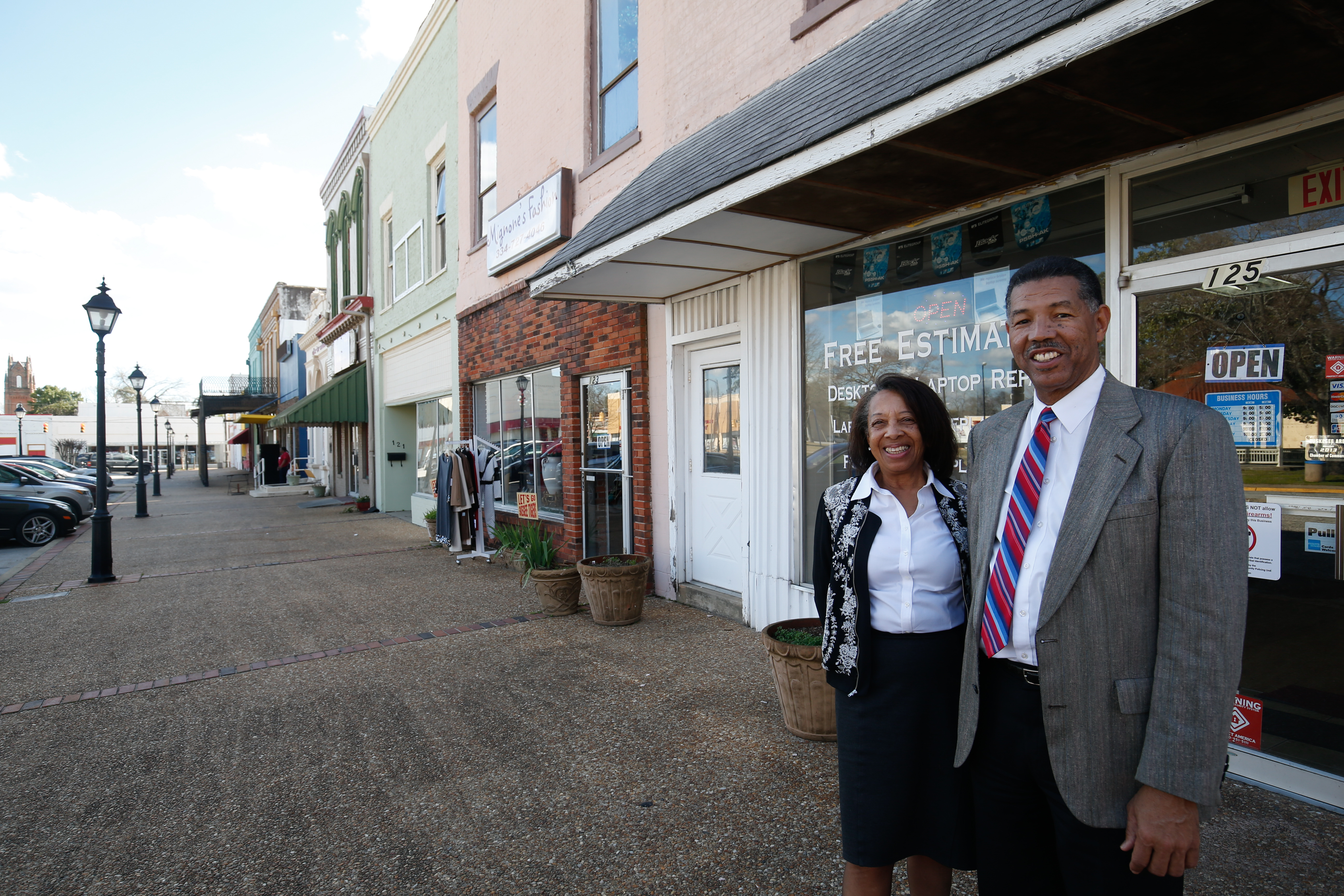 """Town Square is one of our treasures, and we want to make it the center of everything in Tuskegee,"" Mayor Tony Haygood said. (Provided photo)"